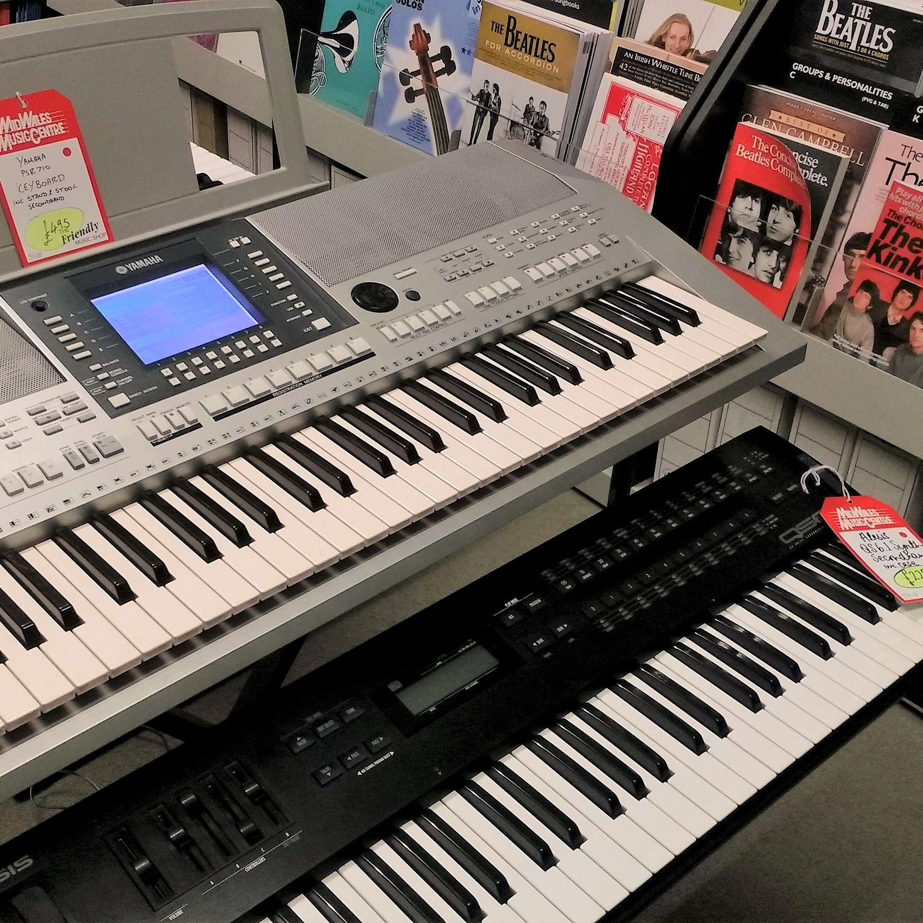 New & Secondhand Instruments & Music Gear | Mid Wales Music
